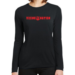 Ladies Gildan Performance® Long Sleeve T-Shirt Viking Nation