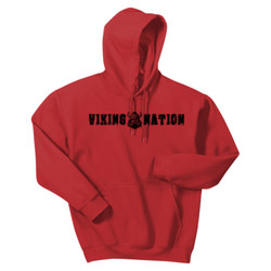Gildan® - Heavy Blend™ Hooded Sweatshirt Viking Nation