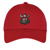 Embroidered Vikings Cap (RED)