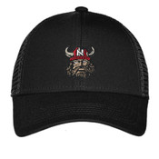 Embroidered Vikings Cap (BLACK)