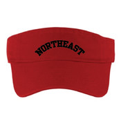 Embroidered Vikings Visor (RED)