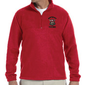 Embroidered Vikings Pullover (RED)