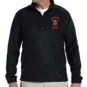 Embroidered Vikings Pullover (BLACK)