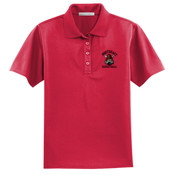 Basketball Ladies Embroidered Performance Polo