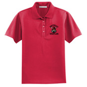 Wrestling Ladies Embroidered Performance Polo