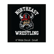 Wrestling Decal Small