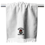 Wrestling Embroidered Rally Towel