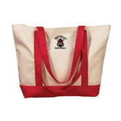 Basketball (Girls) - Embroidered Canvas Tote