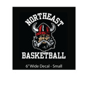 Basketball (Girls) - Decal Small