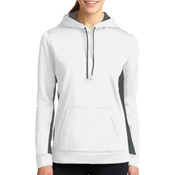 Basketball (Girls) Ladies Sport Wick Fleece Colorblock Hoodie
